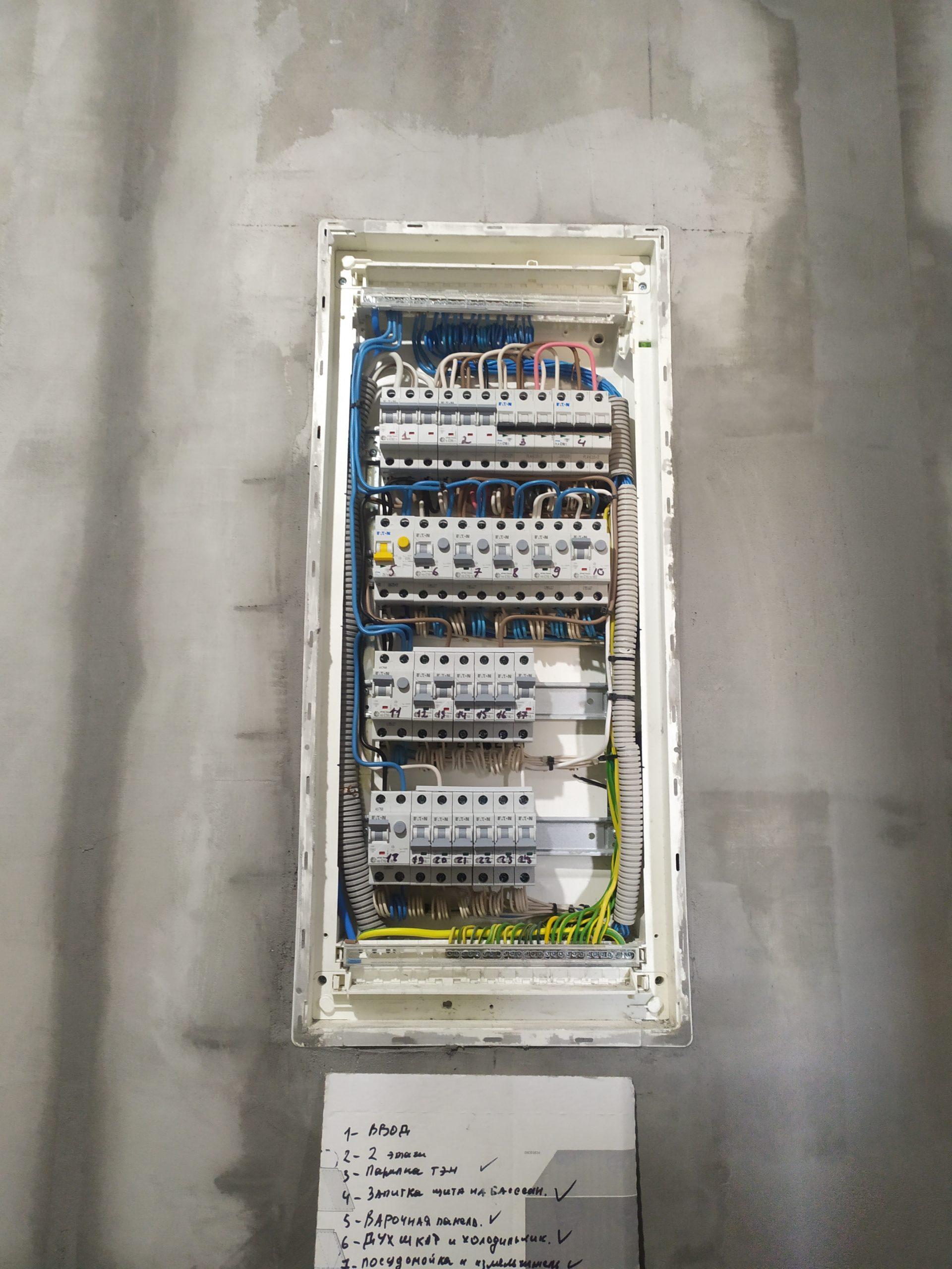услуги электрика в минске в частном доме 4