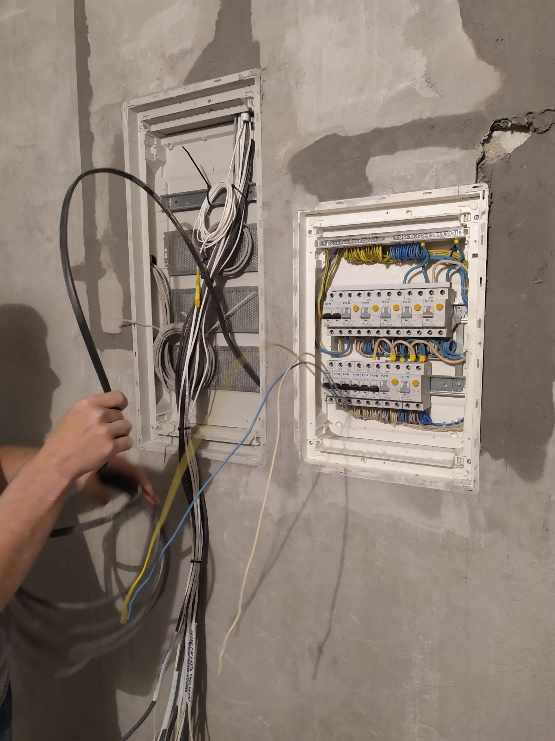 услуги электрика в минске в новостройке 6